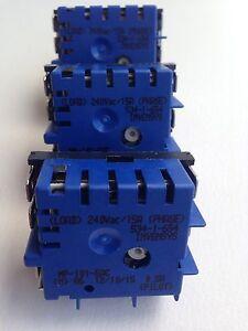 4x Genuine Westinghouse Avondale 161 Cooktop Hotplate Control Switch PAJ161B*00