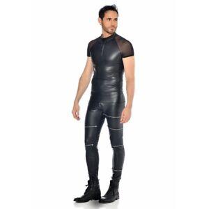 Patrice-Catanzaro-Khal-T-Shirt-sexy-moulant-en-wetlook-et-fine-resille