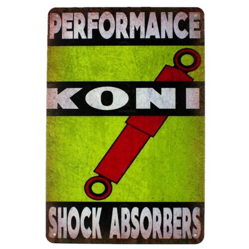 Metal Tin Sign shock absorbers  Decor Bar Pub Home Vintage Retro Poster