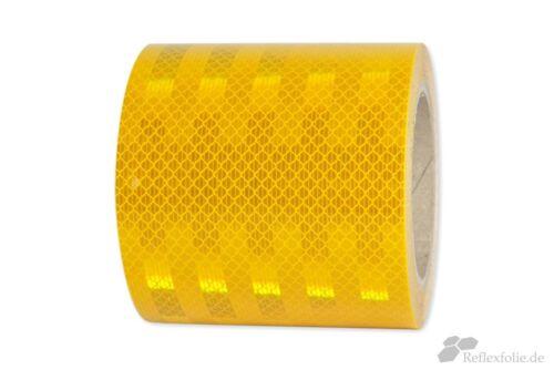 5m x 100mm 3M™ Reflexband 3930 RA2 Reflexfolie reflektierend gelb selbstklebend