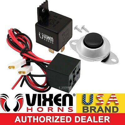 VXA7001-3 Vixen Horns Universal Horn Button Momentary//Push Switch 12V for Train//Air Horn 3 Pack