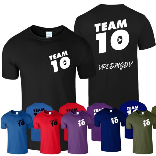 Team 10 Jpaulers T-shirt Inspired Funny Youtuber Savage Tee T Shirt