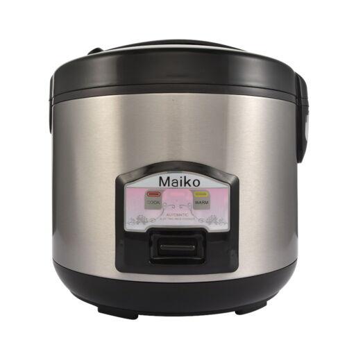 700W 1,8 L Reiskocher Rice cooker Gemüsegarer Dampfgarer Edelstahl NEU Maiko