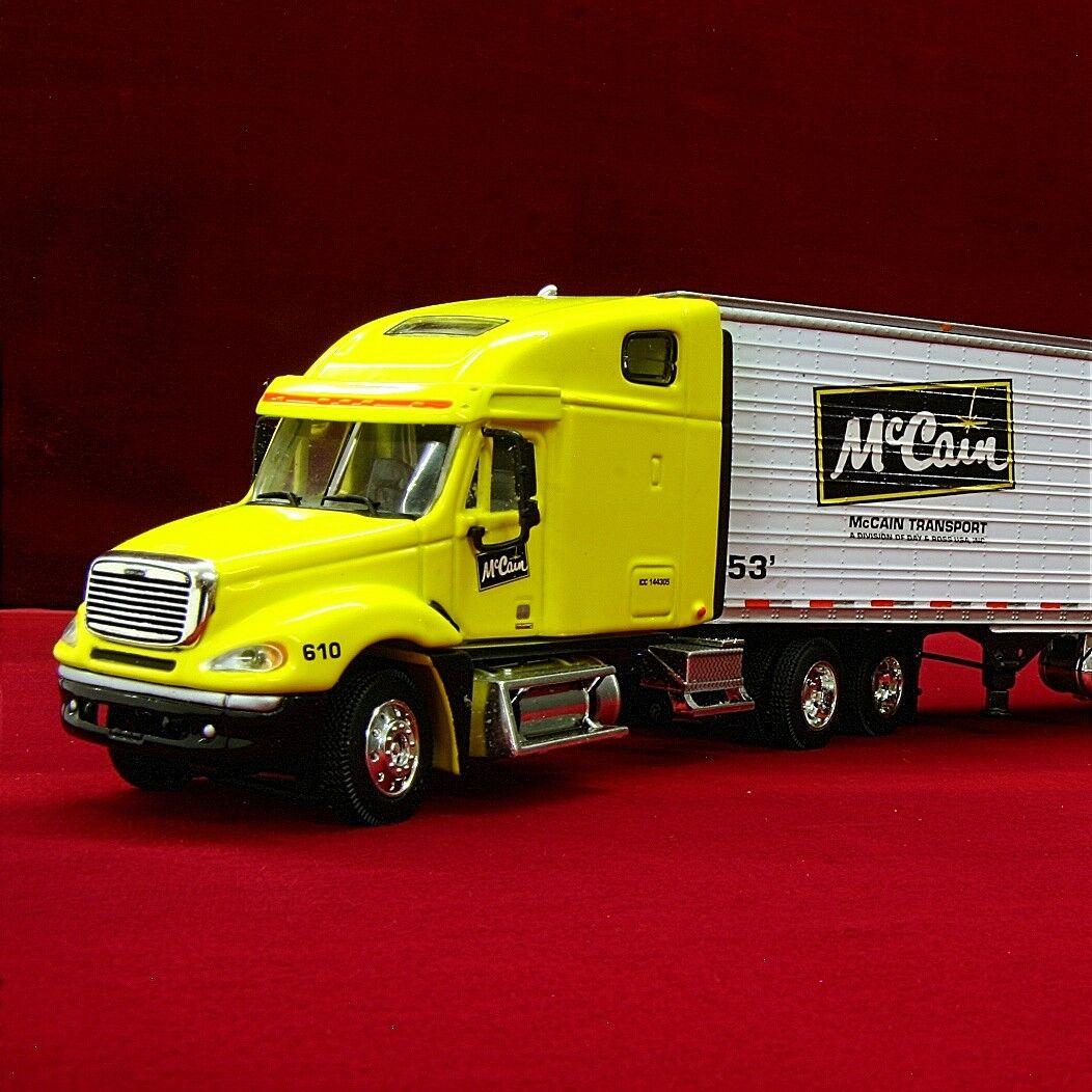 Raro DCP-McCain transporte-Freightliner Columbia con utilidad Reefer - 30376