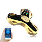 LED Bluetooth Speaker Spin Fidget Music LED Fidget Spinner EDC Gyro Hand Toy