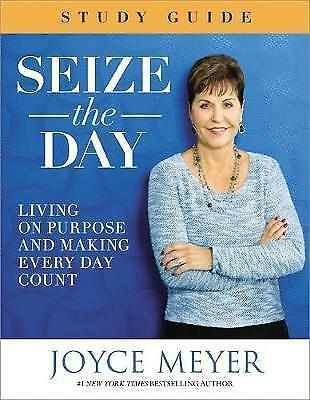1 of 1 - Seize The Day Study Guide, Very Good Condition Book, Meyer, Joyce, ISBN 97814555