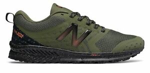 New Balance Men's FuelCore NITREL Trail Shoes Green with Black