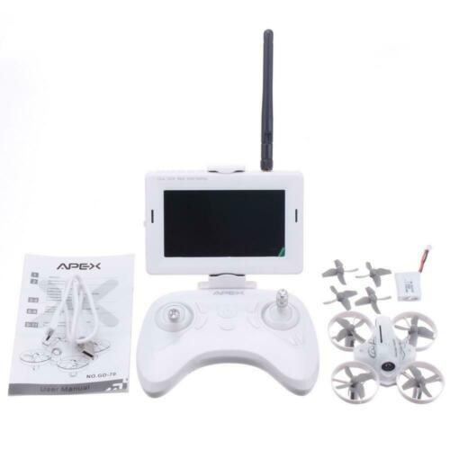 Apex GD-70 Ready to Fly FPV Drone Radio Monitor Combo