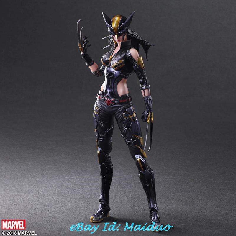 Precio al por mayor y calidad confiable. X-23 Hembra Wolverine Figura De Acción Laura Kinney Kinney Kinney SQUARE ENIX PA Kai Nuevo  mejor calidad