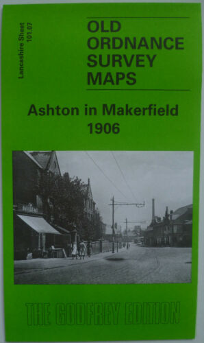 Old Ordnance Survey Maps Ashton in Makerfield Lancs 1906 S101.07 New Map
