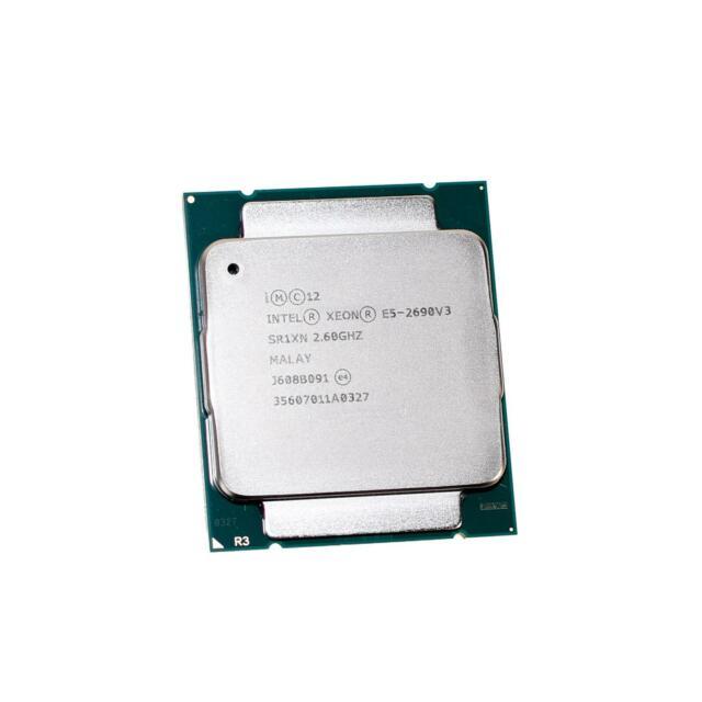 Intel SR1XN Xeon E5-2690 v3 2.6Ghz 12-Core 30M 9.6GT/s LGA2011-3 Processor CPU