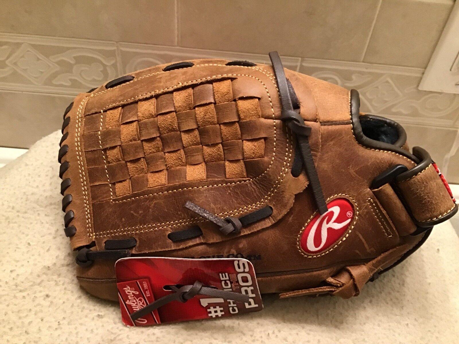 Rawlings R120R 12  renegado béisbol Softbol Guantes Left Hand Throw
