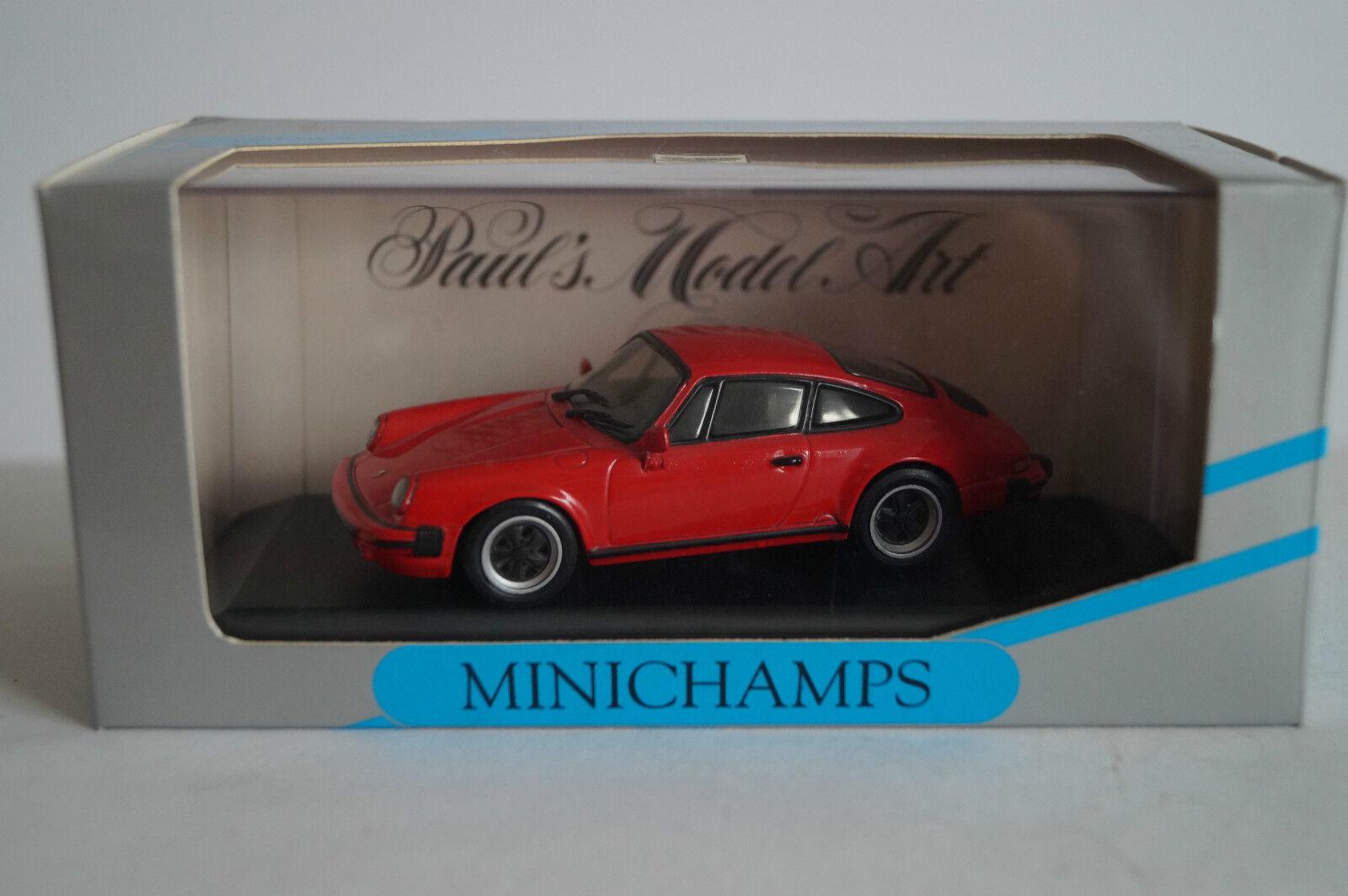 Minichamps voiture miniature 1 43 porsche 911 Coupe 1978-1983 Nº 062020