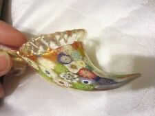 Fratelli Toso Millefiori Murano Venetian Italian Art Glass Slipper Shoe NR