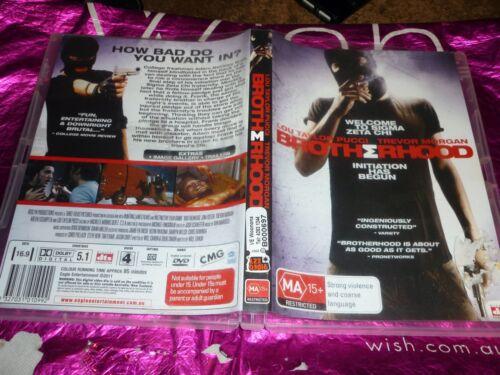 1 of 1 - BROTHERHOOD (DVD, MA15+) (EX-RENTAL) (125476 / 130594 A)
