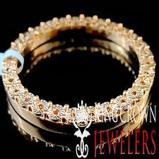Real Brown Chocolate Diamond 41mm Rolex Watch Custom Bezel 10K Rose Gold Finish