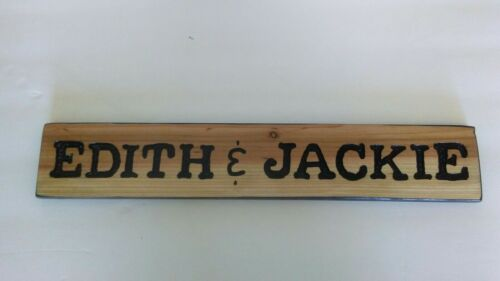"""Personalized wood signs cedar /""""YOUR TEXT/"""""""