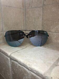 520c92c3c2f42 Quay Australia Sunglasses Women s MUSE Black Purple NWT Incl. Soft ...