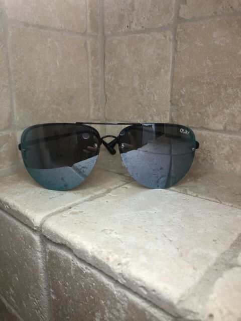3cf5ca1007984 Quay Australia Sunglasses Women's MUSE Black/Purple NWT Incl. Soft Case -  DEFECT