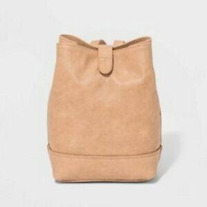 Universal-Thread-Brown-Bucket-Mini-Backpack
