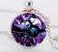 NEW-Silver-Anime-Pokemon-Pokeball-Jewelry-Glass-Dome-Pendant-Necklace thumbnail 1