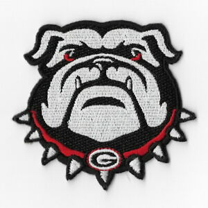 NCAA-Georgia-Bulldogs-Iron-on-Patches-Embroidered-Badge-Patch-Applique-Face