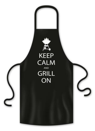 Grillschürze Keep Calm And Grill On