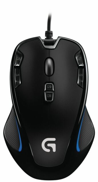 Genuine Logitech MX310 wired usb optical gaming mouse 6 button New Hp Earbud