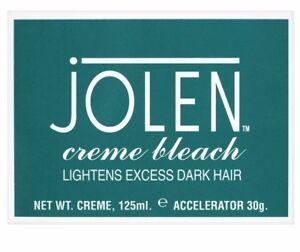 Jolen Creme Bleach Original - Lightens Excess Dark Hair - 125ml 788142873651