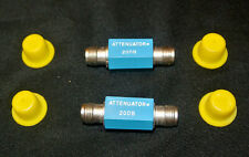 2 X Digital Equipment Products Coax Sma F Both Ends 2 Line Attenuator 1db