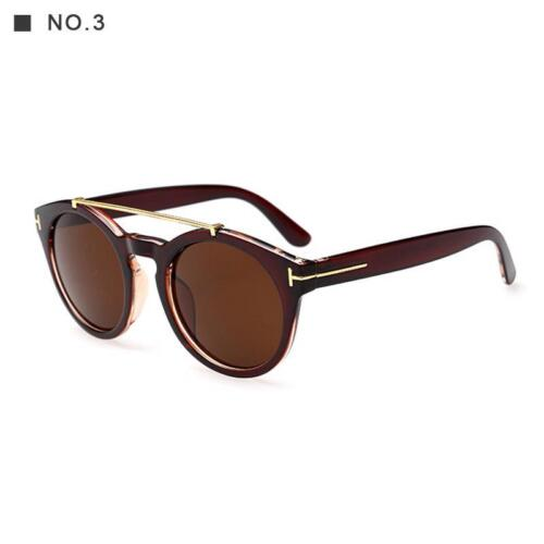 Sunglasses Double Bridge Retro Polarized Men Fashion Womens Mens Metal Designer