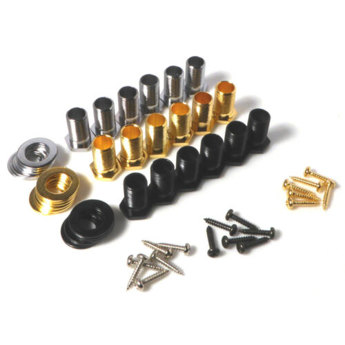 ferrules with screws and washers Machine head nuts guitar bushing