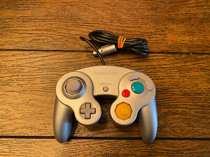 Official-Genuine-OEM-Nintendo-GameCube-Controller-Only-Silver-Platinum-DOL-003