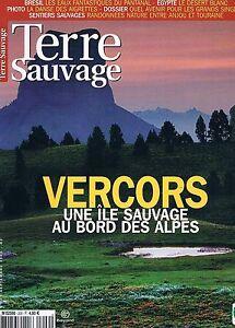 Terre Sauvage N°209 Sep 2005:bresil Pantanal Vercors Grands Singes Sentiers Sa