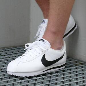 Détails sur Nike Classic Cortez Leather Chaussures Sneaker Homme 749571 100 Blanc afficher le titre d'origine