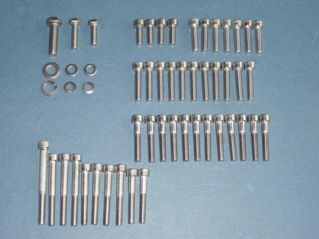 YAMAHA XT TT SR 500  stainless steel engine bolts set