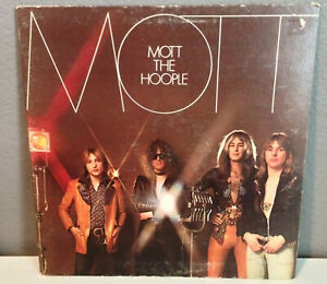 MOTT-THE-HOOPLE-Mott-12-034-Vinyl-Record-LP-EX