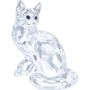 NIB-Swarovski-Crystal-Living-Main-Coon-Cat-5135919