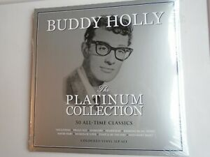 BUDDY-HOLLY-Platinum-Collection-UK-triple-LP-2020-new-mint-sealed-coloured-vinyl