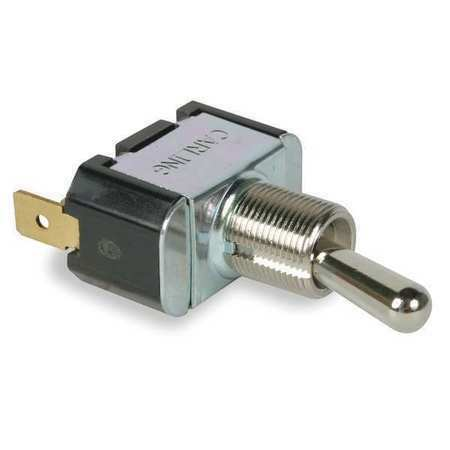 CARLING TECHNOLOGIES 2GP51-73 Toggle Switch,SPDT,10A @ 250V,QuikConnct