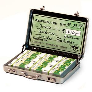 Geldkoffer Als Geldgeschenk Oder Gutscheine Ideal Auch Fur