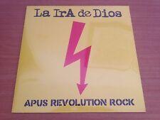 "LA IRA DE DIOS - Apus Revolution Rock SEALED Vinyl LP + 7"" Free Ship"