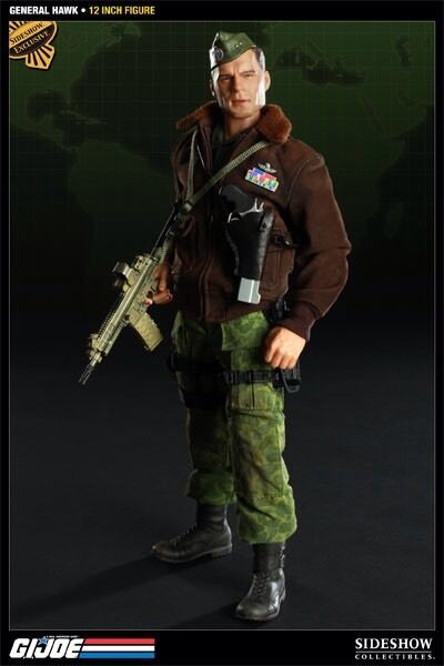 Sideshow Exclusive General Hawk GI JOE Cobra