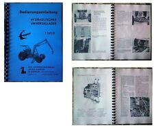 Bedienungsanleitung T157 Empor T 157 T174 T 174 T-174 Fortschritt 96 Seiten!