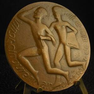 Medaille-Quotidien-journal-Nice-Matin-Bavastro-Comboul-Allegre-1969-Medal