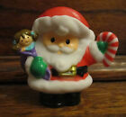 Fisher Price Little People A Visit From Santa Claus Christmas Holiday Doll Cane