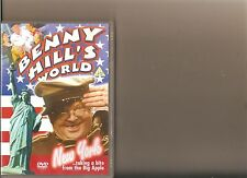 BENNY HILLS WORLD NEW YORK TAKING A BITE FROM THE BIG APPLE DVD COMEDY HILL