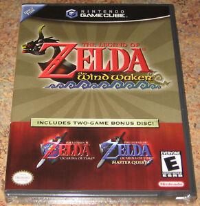 zelda wind waker ocarina of time new sealed gamecube ebay