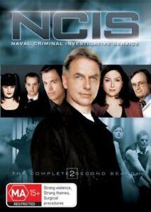 NCIS-Complete-Season-2-DVD-Australia-Region-4-very-good-condition-t2