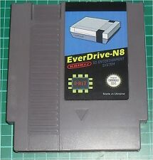 EVERDRIVE N8 nes krikzz nintendo entertainment system SD grey new